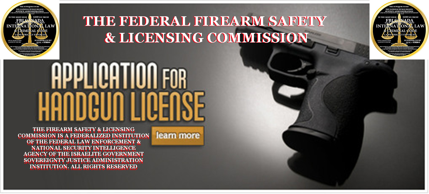THE FIREARM SAFETY LICENSING COMMISSION 2